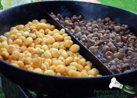 Kartoffel Pilz Pfanne