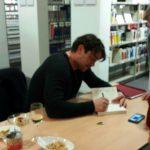 Krimi Vorlesung mit TV Star Ronald Zehrfeld1
